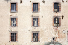 Mill Factory Windows Royalty Free Stock Photography