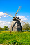 A mill in the field Royalty Free Stock Photos