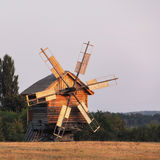 Mill in the field Stock Photos