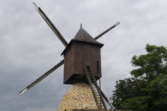 Mill in the fields Stock Image