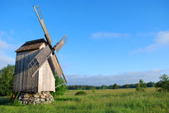 Mill at Hiiumaa Stock Image