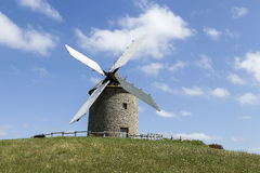 The mill on the hill Royalty Free Stock Photos