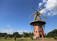 Mill in Holambra, Brazil. Mill in a sunny day in Holambra, Brazil royalty free stock photos