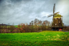 Mill House in Nature. In Frankfurt Historical Building and Green beautiful Grass Royalty Free Stock Photos