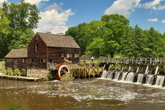 Mill house near New York. Mill house in Sleepy Hollow near New York Stock Photography