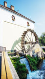 Mill house, Tapolca, Hungary, central Europe. Watermill in Tapolca city, Hungary, central Europe Stock Photos