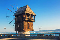 Mill In Nessebar, Bulgaria Stock Photos