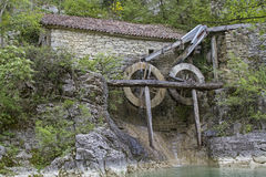 Mill in Istria Stock Images