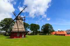 Mill in Kastellet Royalty Free Stock Photos