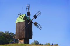 The mill in the Kiev region. royalty free stock images
