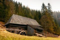 Mill, Kvacianska Dolina, Slovakia Stock Photo