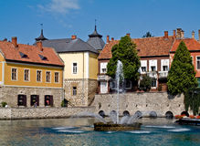Mill lake (Tapolca) Royalty Free Stock Image