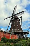 The mill of Lemkenhafen (island Fehmarn) Stock Photo