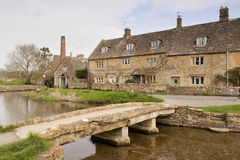 The Mill Lower Slaughter  Cotswolds Royalty Free Stock Photography