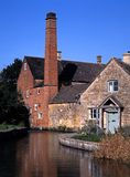 Mill, Lower Slaughter, England. Stock Image