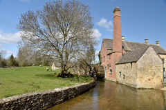 Mill at Lower Slaughter Stock Photography