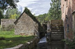 The Mill at Lower Slaughter stock image