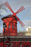 Mill of moulin rouge Stock Images