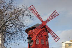 Mill of moulin rouge Stock Photography