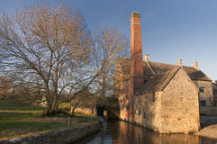 The Mill. The Old Mill in Lower Slaughter gloucestershire Royalty Free Stock Photo