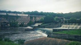 mill opuszczonego Zdjęcie Royalty Free