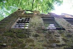 mill opuszczonego zdjęcie stock