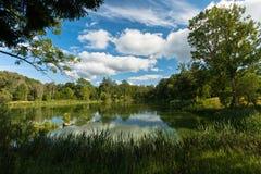 Mill pond Stock Photo