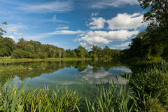 Mill pond Royalty Free Stock Photography