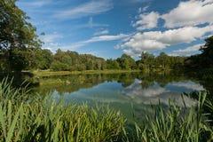 Mill pond stock image