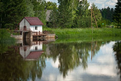 Mill pond Royalty Free Stock Photos