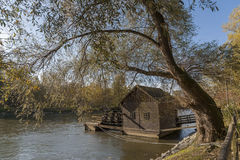 Mill on the river. Mill on the Mura river Royalty Free Stock Photos