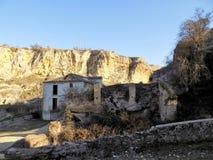 Mill and ruins- Alhama de Granada Stock Photos