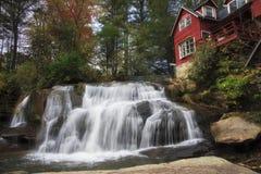 Mill Shoals Falls stock image
