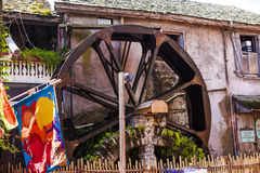 Mill in St.Augustine Florida. Mill in historic downtown in St.Augustine Florida USA royalty free stock images