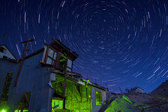 Mill Star Trails Stock Photos
