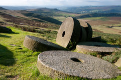 Mill stones Stock Photography