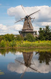 Mill in summer day Royalty Free Stock Photos
