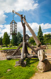 Mill in summer day Stock Photography