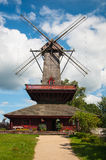 Mill in summer day Royalty Free Stock Images