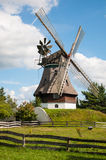 Mill in summer day Stock Images