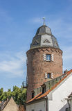 Mill tower in the  historic center of Kranenburg Royalty Free Stock Photos