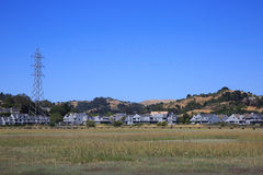 Mill Vallet. Landscape in Mill Valley, CA Stock Image