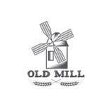 Mill vector design template Stock Photos