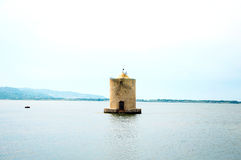 Mill on the water. Italy Royalty Free Stock Image