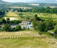 Mill waterfall of Terme di Saturnia Royalty Free Stock Images
