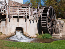 Mill with Wheel Royalty Free Stock Photo