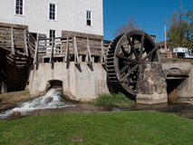 Mill with Wheel Royalty Free Stock Photos
