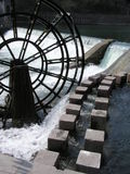 Mill wheel Royalty Free Stock Photos