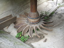 Mill wheel Stock Photography