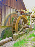 Mill wheel Royalty Free Stock Images